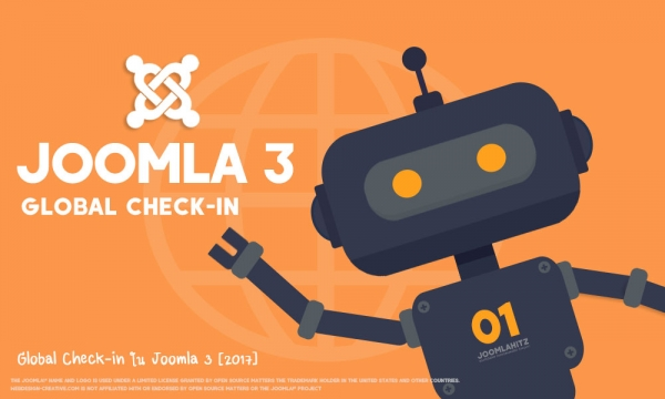 Global Check-in ใน Joomla 3